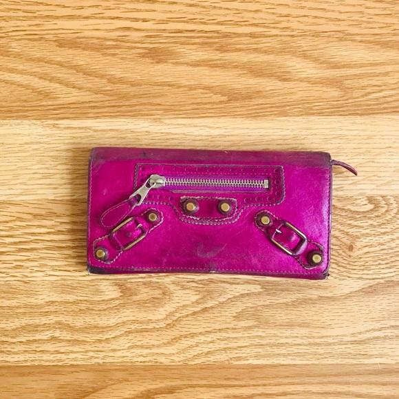 Balenciaga Handbags - 💯Balenciaga Arena continental wallet